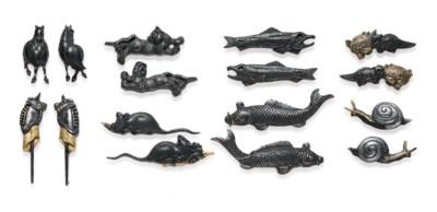 Eight Pairs of Menuki
