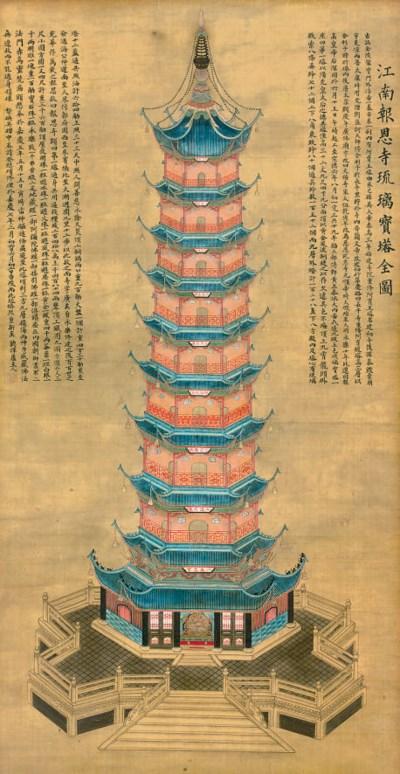 Bao'ensi or the Porcelain Towe