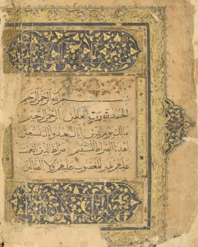 A QUR'AN, IRAN, DATED 828AH/14