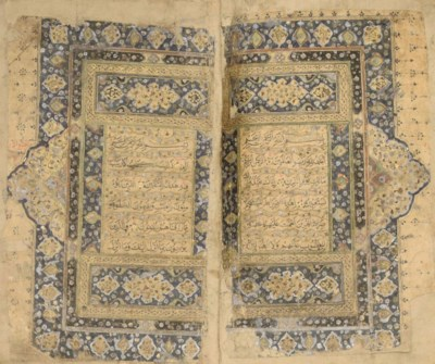 A QUR'AN, PROBABLY INDIA, 16TH