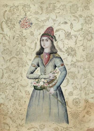 A PORTRAIT OF A DERVISH BY NUR