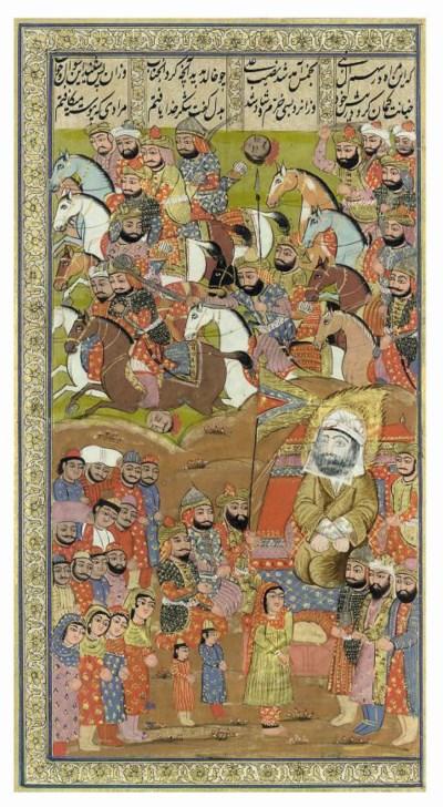 AN ILLUSTRATION FROM A KASHMIR