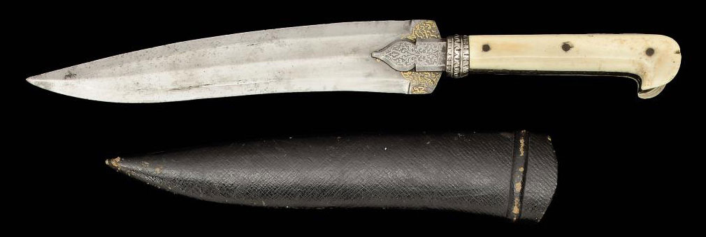 AN OTTOMAN DAGGER WITH INDIAN