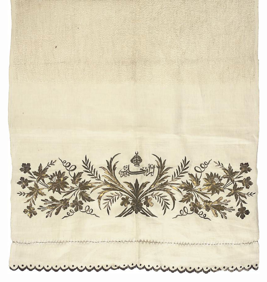A LOOPED COTTON HAMMAM TOWEL