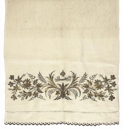 A LOOPED COTTON HAMMAM TOWEL