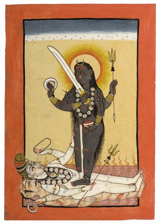 A DEPICTION OF KALI, MANDI, CI