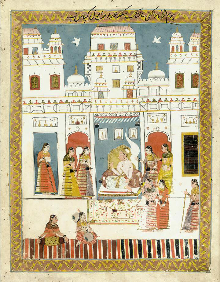 AN INDIAN PRINCE WITH FEMALE A