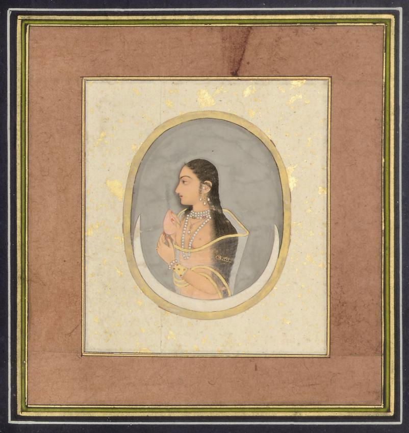 A PORTRAIT OF A LADY, BIKANER,