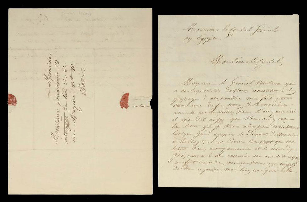 TWO LETTERS FROM GENERAL J.F.