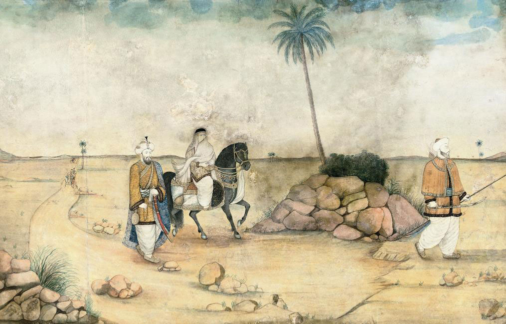 THE MUGHAL EMPEROR HUMAYUM WIT
