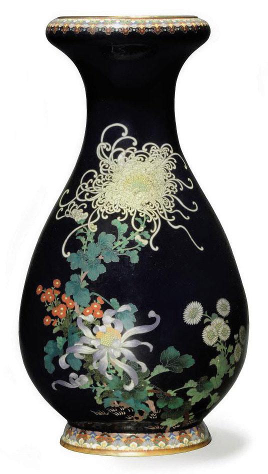 A Cloisonné Vase