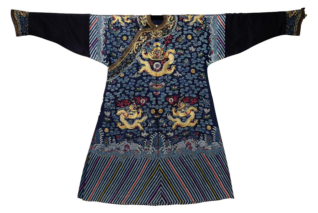 A FORMAL COURT ROBE (CHIFU) OF