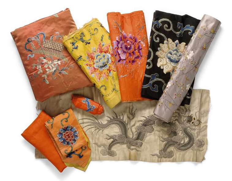 A COLLECTION OF VARIOUS TEXTIL