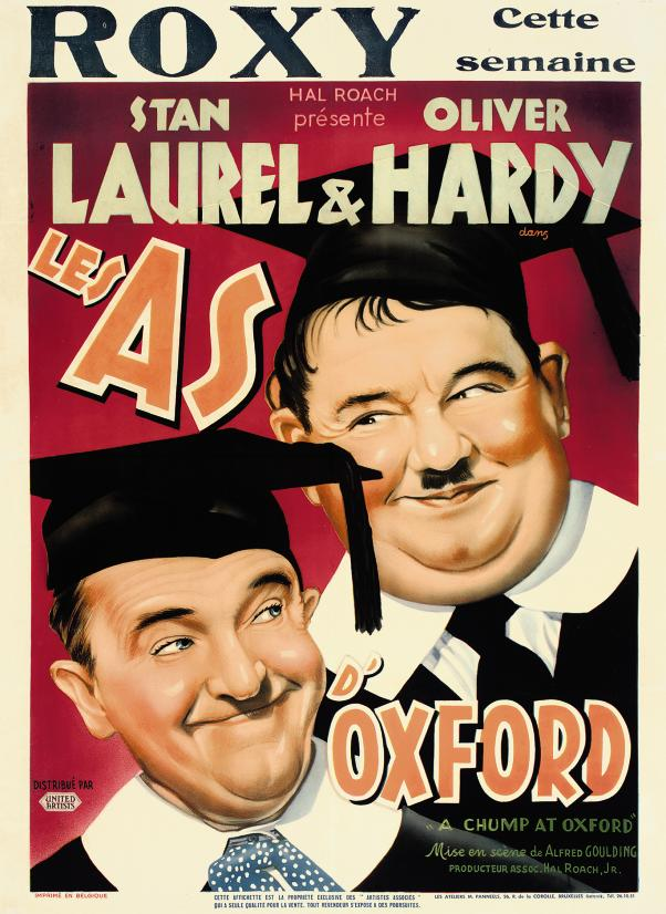 A Chump At Oxford  Les As D'Ox