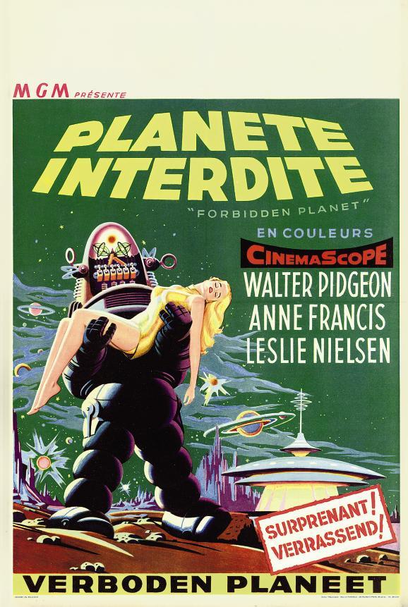 Forbidden Planet  Planete Inte