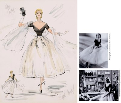 Edith Head and Grace Kelly  Re
