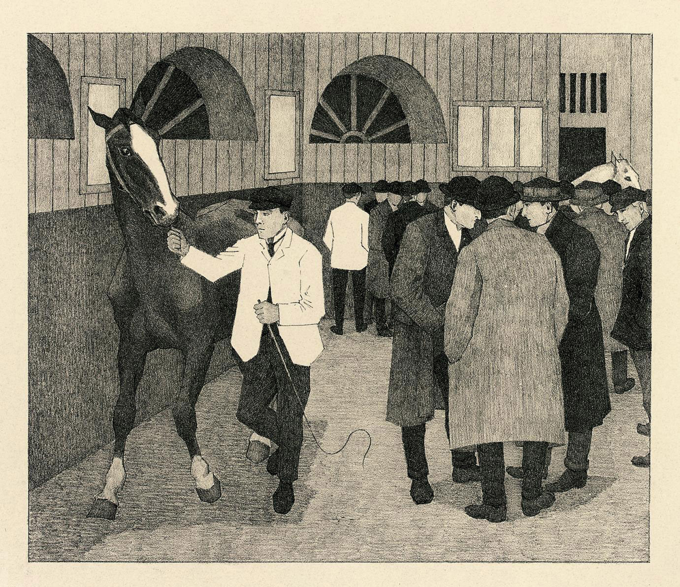 Horse Dealers at the Barbican (Barbican No.2)(Dry 35)