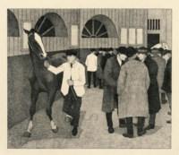 Horse Dealers at the Barbican (Barbican No.2)(Dry 35)