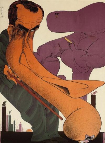 Gerald Scarfe (b. 1936)