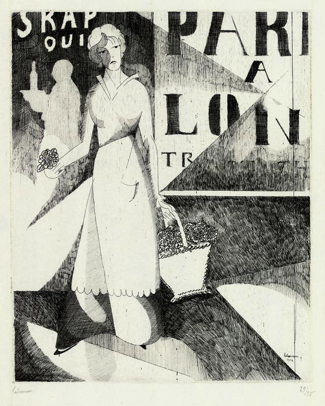 La Marchande de Violettes (Laboureur 132)