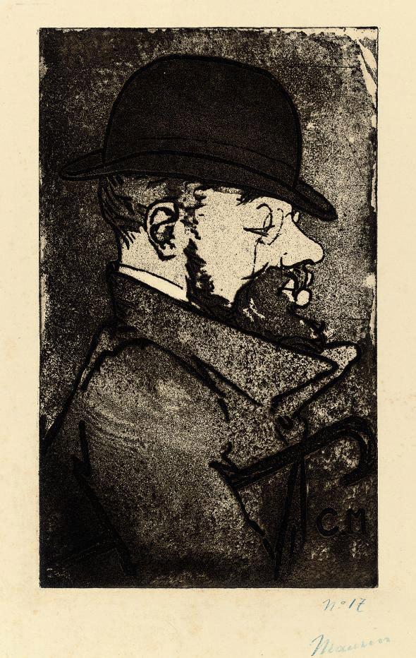 Portrait of Henri de Toulouse-Lautrec (Stein & Karshan 46)