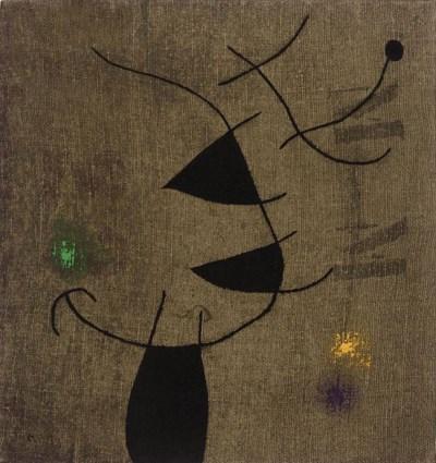 After Joan Miro (1893-1983)