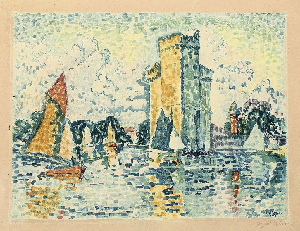 After Paul Signac (1863-1935),