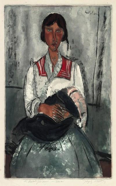 After Amedeo Modigliani (1884-