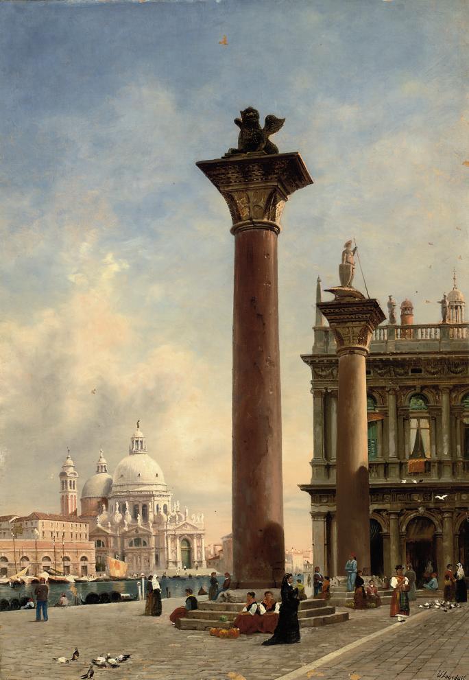 St. Mark's Square, with Santa Maria della Salute beyond