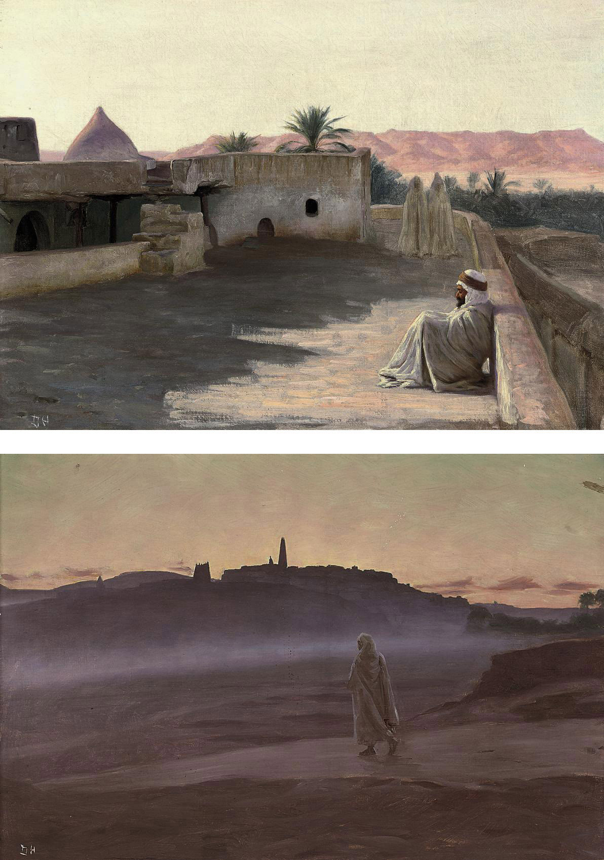 The road to the citadel; and A rest from travelling