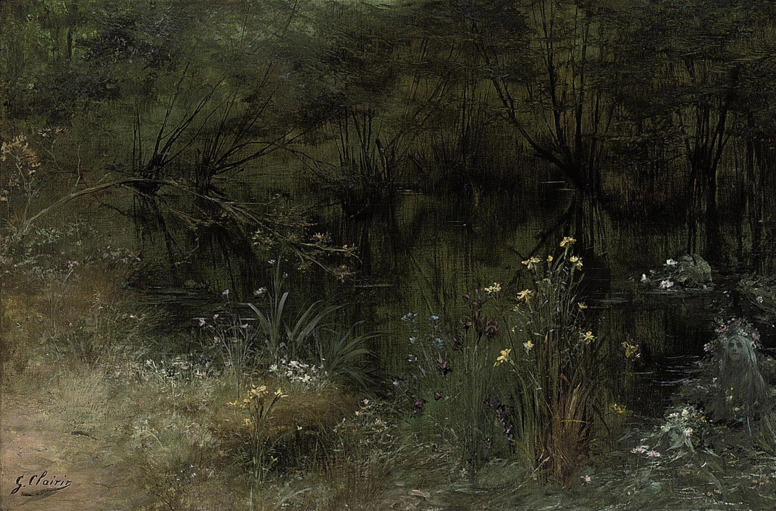 A Lake with Naiads