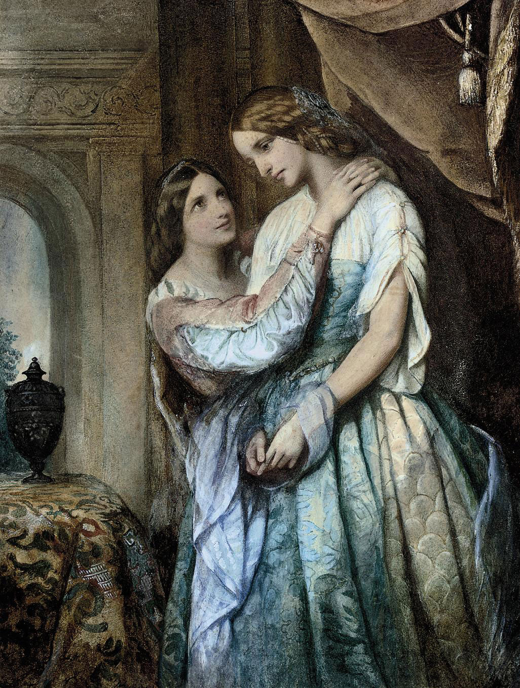 Rosalind and Celia: 'But is this all for your father?', As You Like It:Act 1:Scene 3