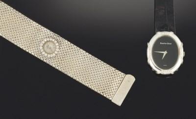 Two diamond set wristwatches