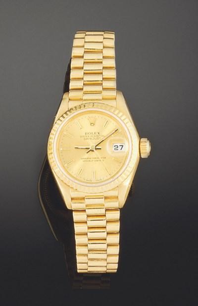 An 18ct. gold,