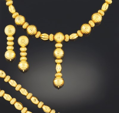 A group of jewellery, by Lalao
