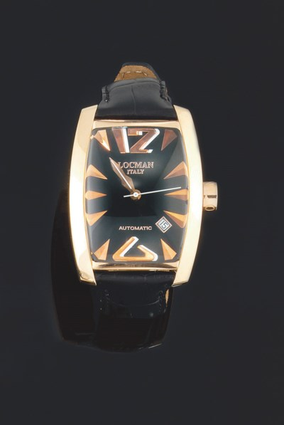An automatic wristwatch, by Lo