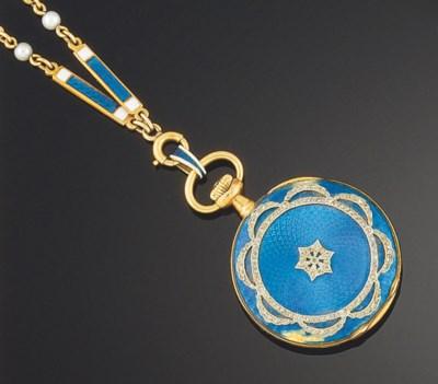 A Belle epoque gold, diamond a