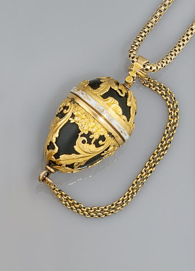 A late 18th century gold, bloo