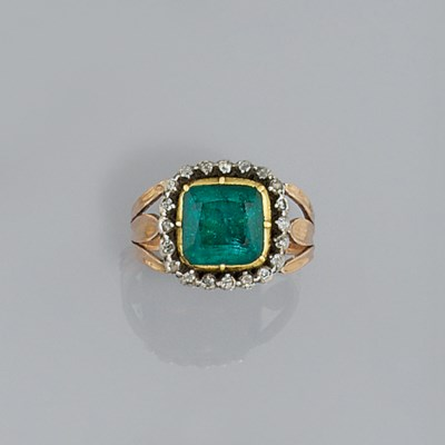 An early 19th century emerald