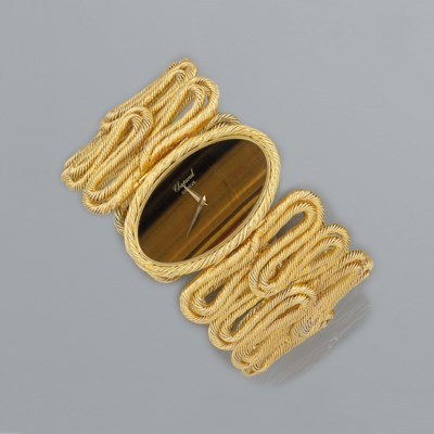 A bracelet watch, by Chopard