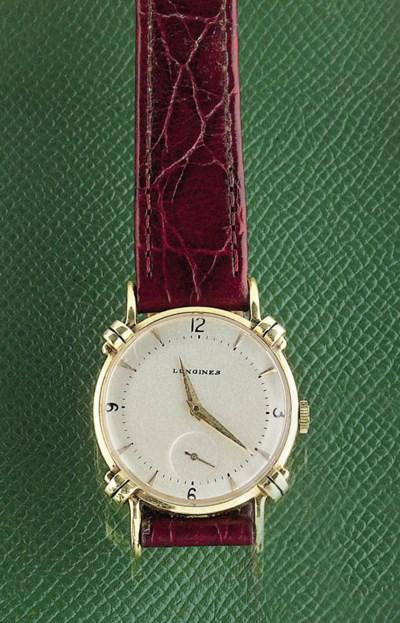 A wristwatch, by Longines