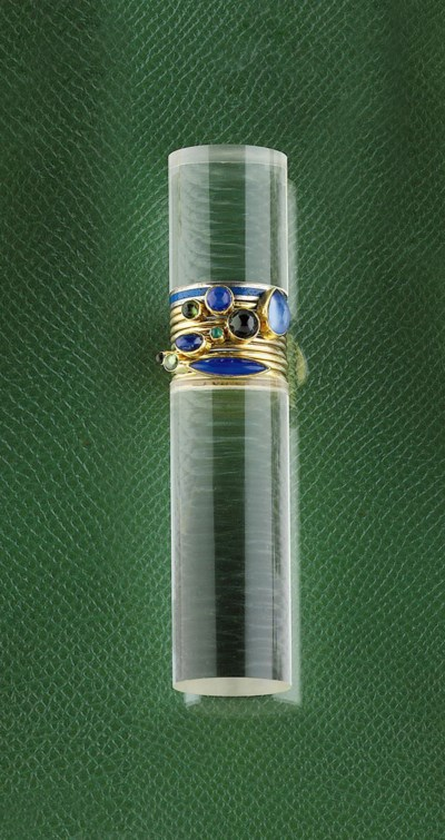 A set of gem-set rings and sta