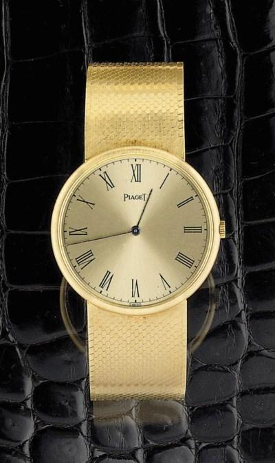 A bracelet watch, by Piaget