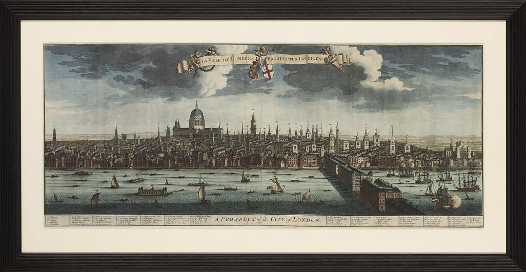 A Prospect of Westminster; and A Prospect of the City of London