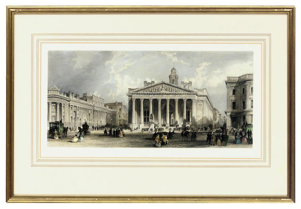 Topographical Views of London;