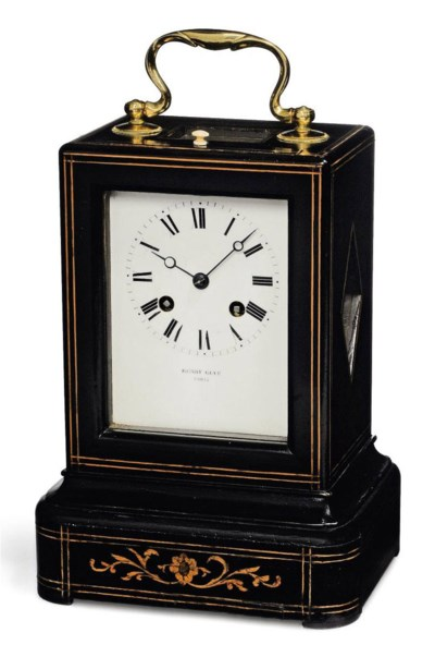 A FRENCH EBONISED AND INLAID S