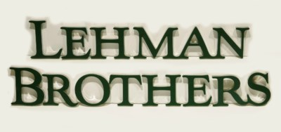 Lehman Brothers Corporate Sign