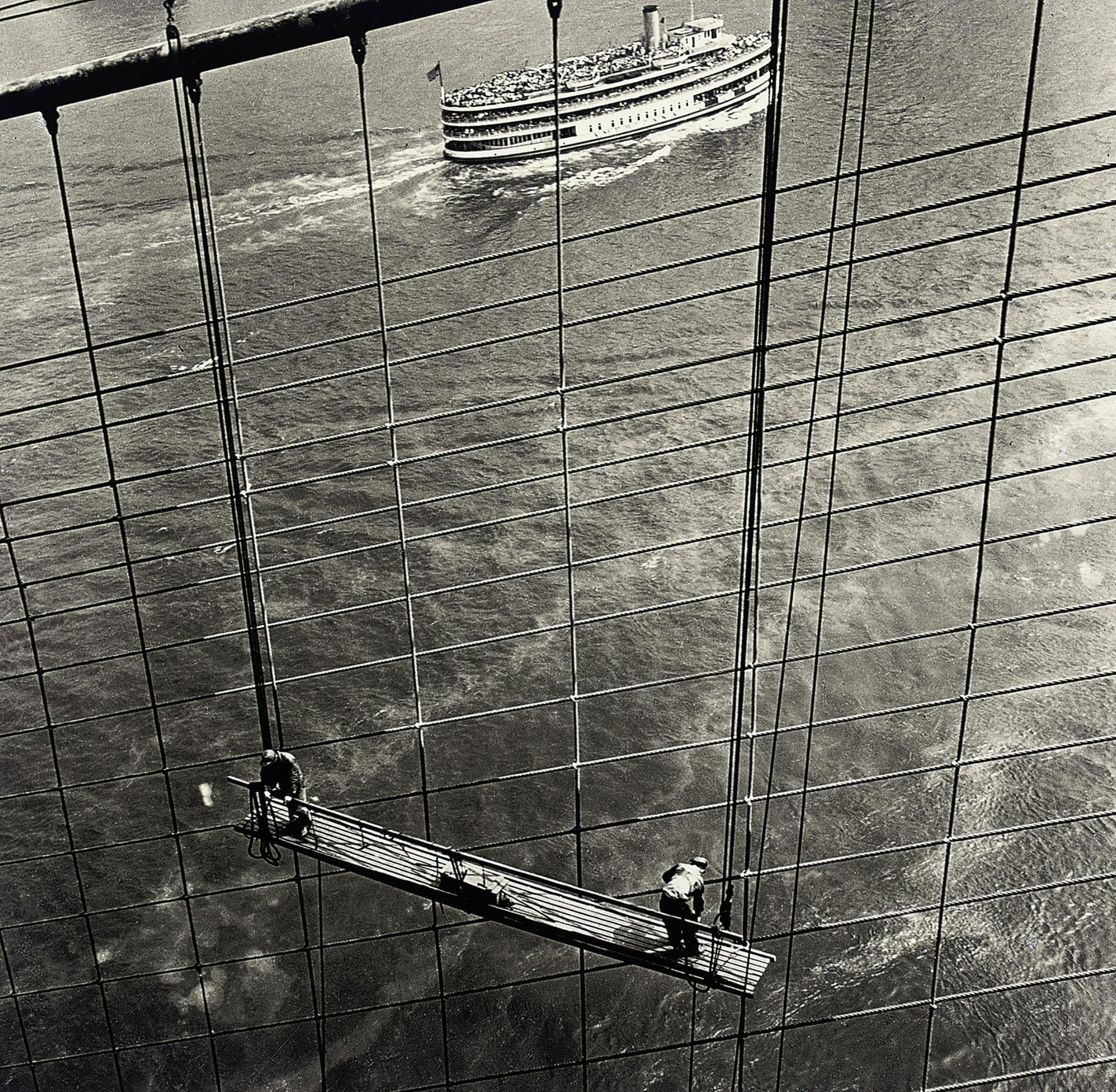 Brooklyn Bridge, 1946.