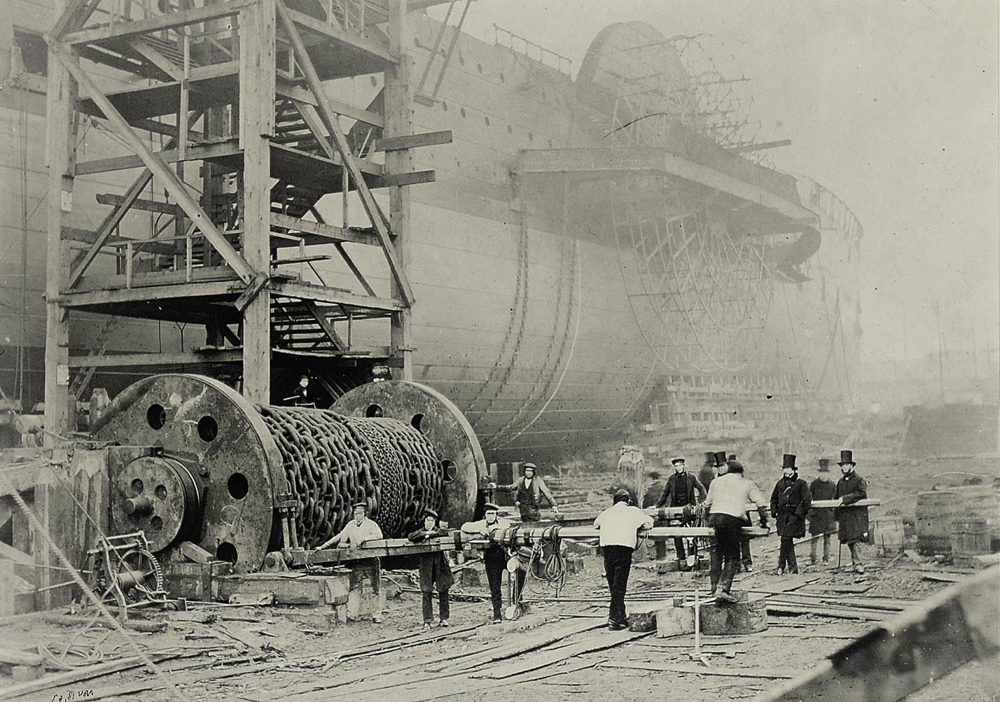 Construction of The Great Eastern, Millwall