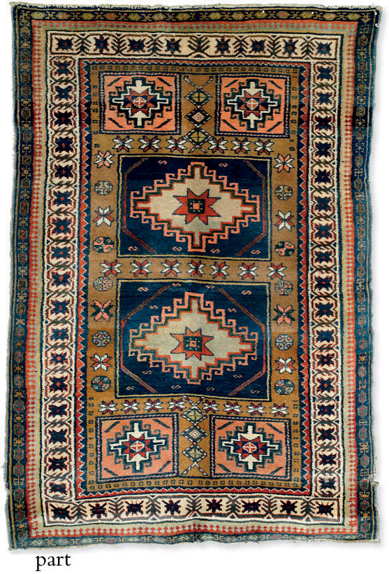 An Erevan rug & unusual antiqu